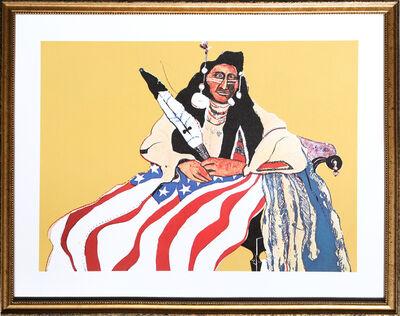 Fritz Scholder, 'Bicentennial Indian from the Kent Bicentennial Portfolio ', 1975
