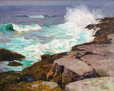 Edward Henry Potthast, 'Surf at Low Tide', ca. 1915