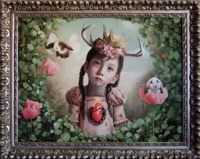 Olga Esther, 'The Sacred Heart of the Woods'