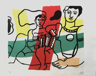 Fernand Léger, 'L'Enfant a L' Acordion', 1953