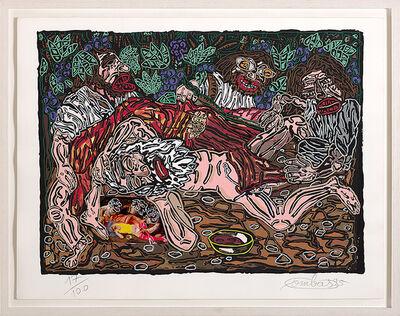 Robert Combas, 'L'ivresse de Noé', 1995