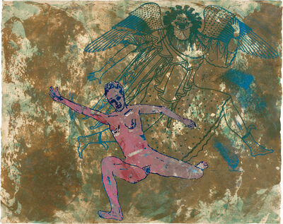 Nancy Spero, 'Gorgon and Runner', 1995