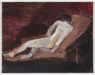 Janice Nowinski, 'Woman on a Couch', 2018