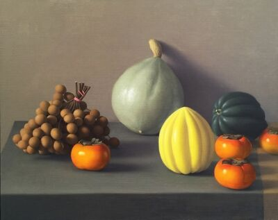Amy Weiskopf, 'Still Life with Logan Berry and Persimmons', 2011
