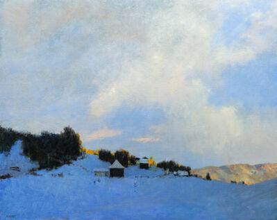 Donald Jurney, 'A Winter Hamlet', 2017