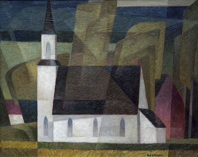 A.J. Casson, 'Country Church', 1950