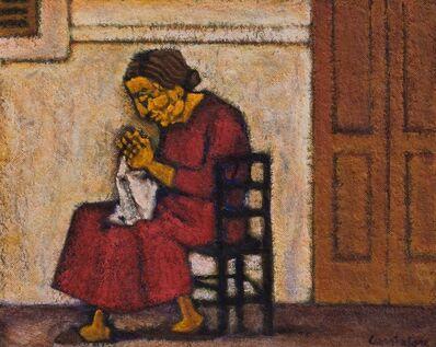 Domenico Cantatore, 'Donna seduta'