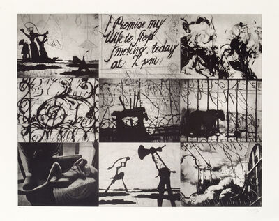 William Kentridge, 'Zeno Writing', 2002