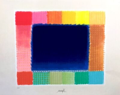 Heinz Mack, 'Blue Field, 2016/2017', 2017