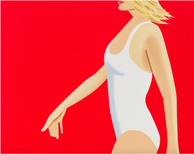 Alex Katz, 'Coca Cola Girl 1', 2019