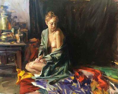 Quang Ho, 'Figure with Silk Kimono', 2017