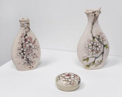 Heesoo Lee, 'Blossom Vase I, Blossom Vase II, Blossom Box', 2016