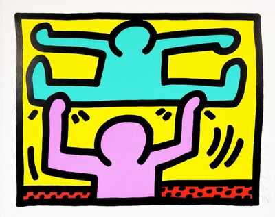 Keith Haring, 'Pop Shop 1', 1987