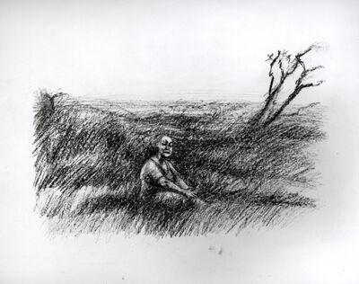 Celia Paul, 'Woman in a Landscape with Tree', 2002
