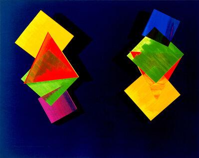 Dorothea Rockburne, 'Mozart and Mozart Upside Down and Backwards', 1993
