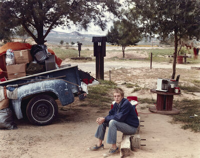 Joel Sternfeld, 'Red Rock State Campground (Boy), Gallup, New Mexico, September', 1982