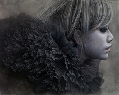 Chan-Peng Lo, 'Ashen Face 20 - Silver Snow', 2012