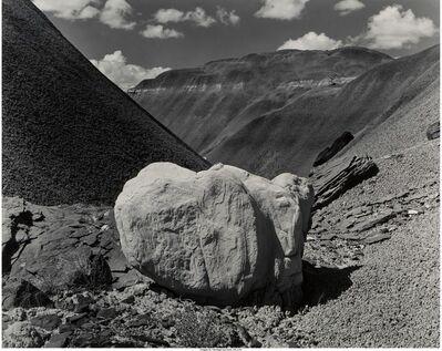 Eliot Porter, 'White Boulder, Black Place, New Mexico', 1945