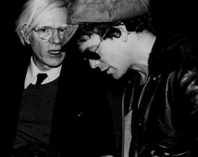 Rose Hartman, 'Andy Warhol and Lou Reed at Studio 54, 1977', 1977