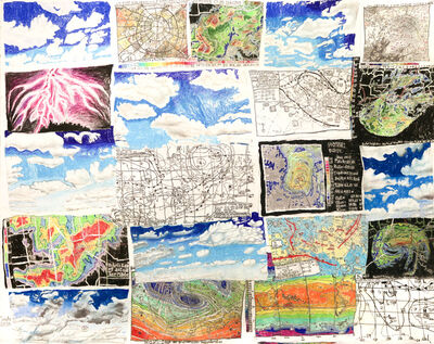 Nicole Appel, 'Weather Charts, Clouds, and Doppler Radars', 2016