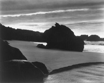 Brett Weston, 'Sundown, Garrapata Beach', 1962-printed mid 1970s