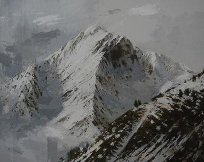 Calo Carratalá, 'Large Benasque 2, Snow series', 2017