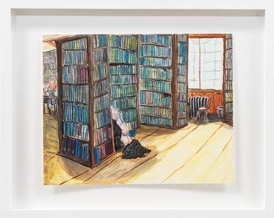 Tanya Haden, 'The Santa Monica Library, ca 1982', 2015