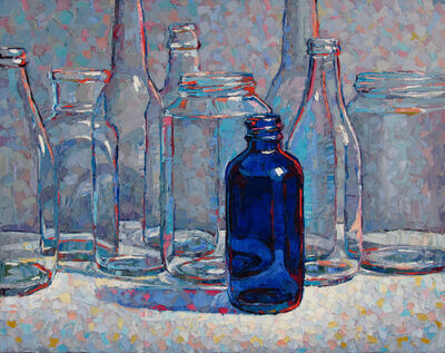 Raymond Logan, 'Bottle Blue', 2019
