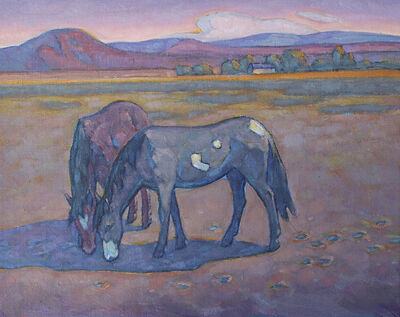 "Howard Post, '""Dry Pasture""'"