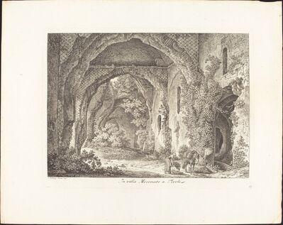 Johann Christian Reinhart, 'In Villa Mecenate', d792