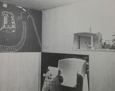 Lucien Hervé, 'Ronchamp A-III-8', 1952
