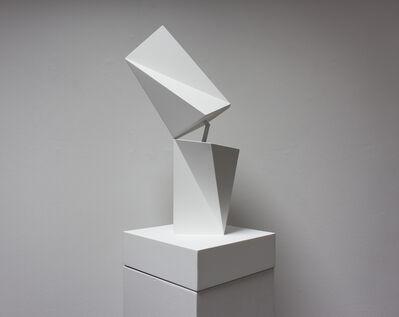 Fabrice Ainaut, 'Transformation d'un volume blanc-', 2019