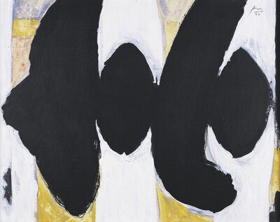 Robert Motherwell, 'Untitled (Elegy)', 1990