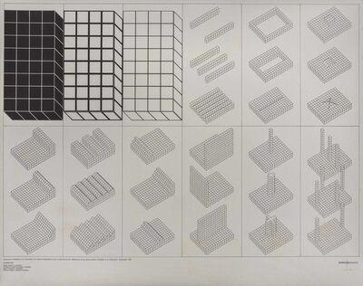 Superstudio, 'Istogrammi d'architettura', 1969