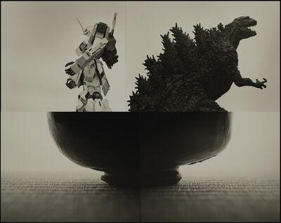 Keiichi Ito, 'Gundam and Godzilla', 2019