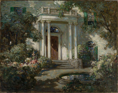 Abbott Fuller Graves, 'Front Porch in Dappled Sunlight', 19th -20th Century