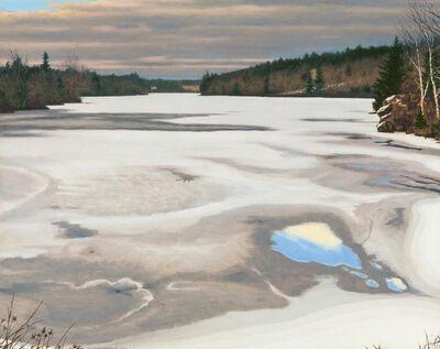 David Vickery, 'Salt Pond, Winter's End', 2020