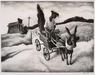 Thomas Hart Benton, 'Lonesome Road', 1938