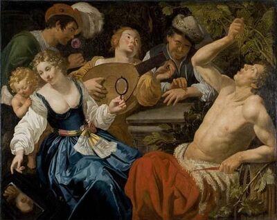 Jan van Biljert, 'The Five Senses', 17th century