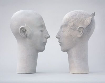Glenys Barton, 'Toni Angel Heads ', 2006