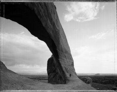 Mark Klett, 'Beneath the Great Arch near Monticello, Utah, 6/21/82'