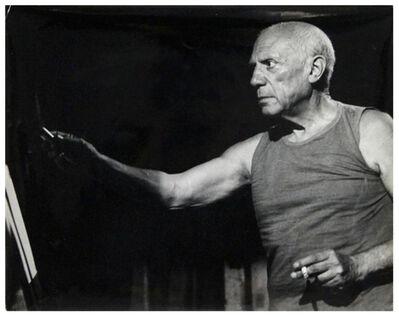 """André Villers, 'Tournage du film """"Le Mystére Picasso""""', 1955"""
