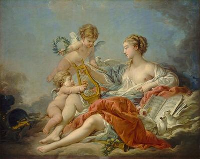 François Boucher, 'Allegory of Music', 1764