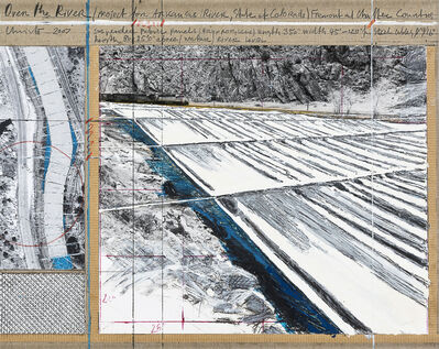 Christo, 'Over the River (Project for the Arkansas River, State of Colorado)', 2007