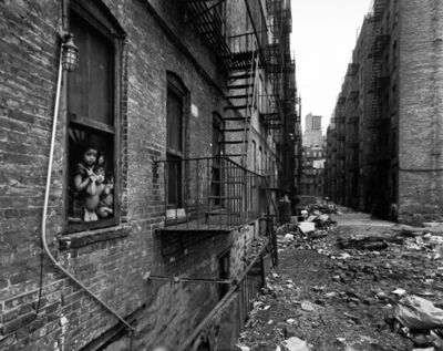Bruce Davidson, 'East 100th Street (children in window with view of alley)', 1966-68