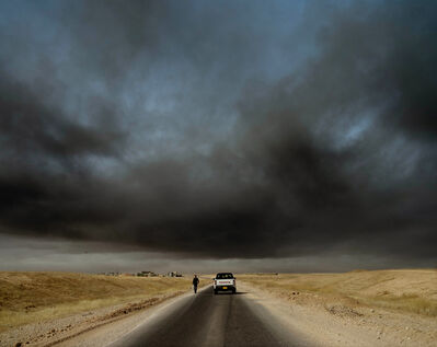 Abbie Trayler-Smith, 'The Road to Mosul. November 2016'