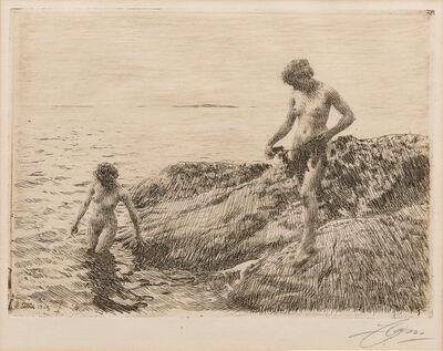 Anders Leonard Zorn, 'Seaward Skerries', 1913