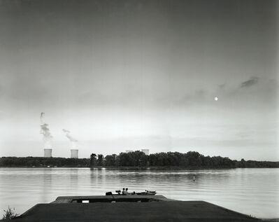 Timothy Rice, 'Three Mile Island #6, Moonrise over TMI, Lake Frederick Recreational Area, Goldsboro, PA', 1996  1997
