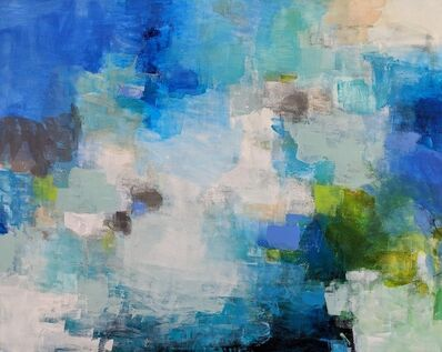 Charlotte Foust, 'Blue Watercolors', 2018