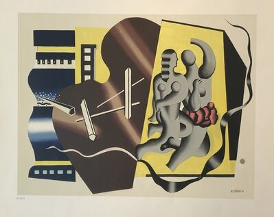 Fernand Léger, 'Composition Avec Figures', ca. 1950